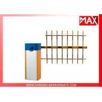 Buy cheap Car Park Access Barriers 6 second With Three Fence Boom Length 6M from wholesalers