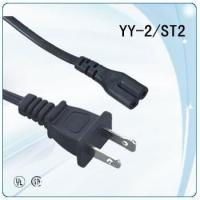 Buy cheap UL approved 125V NEMA plug IEC C8  power Cords from wholesalers