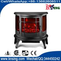 Buy cheap Electric Fireplace Heater 3 Sided Freestanding electric Stove SF-23 Log flame effect INDOOR HEATER room heater from wholesalers