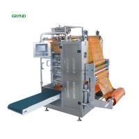 Buy cheap Four Side Sachet Filling Machine , Multi Line Liquid Sachet Packaging Machine product