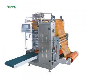 Buy cheap Four Side Sachet Filling Machine , Multi Line Liquid Sachet Packaging Machine Y500E product