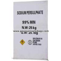 Professional Anti-corrosion PP Woven Bags Sacks for Packing Sodium Persulfate