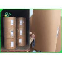 Buy cheap 250gsm Virgin Brown Kraft Paper Roll / Jumbo Wrapping Paper Rolls Moisture Proof from wholesalers