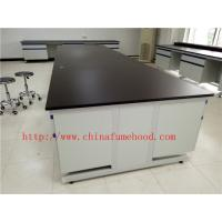 Buy cheap 3750 mm Protecting  Corrosion / Acid / alkali  Steel Wood Lab Furniture / Science Lab Casework from wholesalers