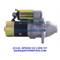 Buy cheap 123500-77010, 12350077010, 124610-77010, 12461077010 - HITACHI Starter Motor 12V 2.5KW 11T from wholesalers