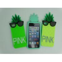 Buy cheap Beautifult Pineapple Silicone Iphone Case For Iphone 5S / 5G / 5C from wholesalers