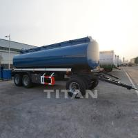 Buy cheap fuel dolly drawbar tanker trailer high quality drawbar thank trailers for sale from wholesalers