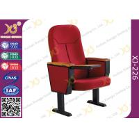 Buy cheap Wooden Back Cold Rolled Steel Feet Auditorium Theatre Seating Chair from wholesalers