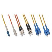 Buy cheap Simplex/Duplex Fiber Optic Patch Cords SM/MM from wholesalers