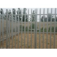 Buy cheap Hot Dipped Galvanized Metal Palisade Fencing For Garden Decoration , 2.75m Height from wholesalers