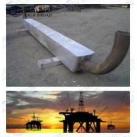 Buy cheap Aluminum cathodic protection anodes for Offshore construction Service onshore solution from wholesalers