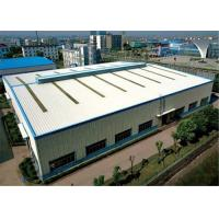 Buy cheap Lightweight Modular Steel Building , Residential Workshop Buildings High Strength from wholesalers