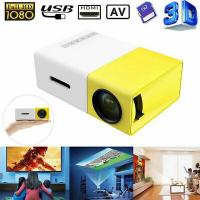 China Wholesale High Quality 1080P Home Theater Cinema USB HDMI AV SD Mini Portable HD LED Projector TY Made In China Factory on sale