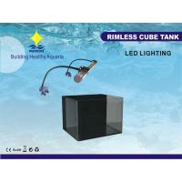 Buy cheap 63L Acrylic Elegant Fish Tank Aquariums With 10W DC 14V LED Lamp, Full Background Filter from wholesalers