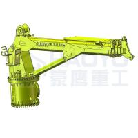 Buy cheap Hydraulic images telescopic mobile crane Marine Ship Deck Crane from wholesalers