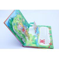 Buy cheap Glossy Art Paper 3d Pop Up Card Printing With Uv Varnishing , Book Print Service from wholesalers