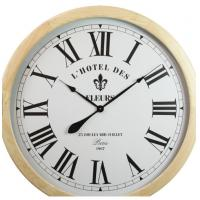 Buy cheap Wooden Silent Non-Ticking Kitchen Wall Clocks Fashional Design Large Round Home & Office Wall Clock from wholesalers
