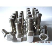 Buy cheap Titanium gr1, 2, 4, 5, 7, 9 of Technique Rolled threads, CNC machining for medical dental screw from wholesalers