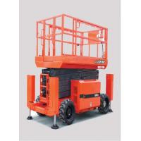 Buy cheap Diesel Powered Scissor Lift with 8m Platform Height (4WD) with 680kg Load Capacity from wholesalers