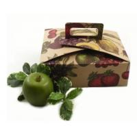 Buy cheap Professional Fresh Fruit Shipping Boxes EB Flute Waterproof Corrugated Boxes from wholesalers