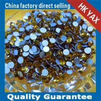 Buy cheap rhinestone glue on flat back china supplier,glue on flat back rhinestone for shoes bags jx0528 from wholesalers