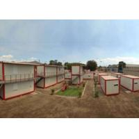Buy cheap Flat Fold Modular Buildings Made From Shipping Containers  Stackable  Steel Luxury from wholesalers