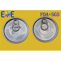 Buy cheap Custom Made Aluminum Pop Can Lids 300# 73mm Food Can Easy Open End from wholesalers