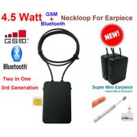 Buy cheap Best  model high quality  4.5 W  Spy GSM Box neckloop  black Megntic mini micro Invisible Spy Exam Iner earpiece china from wholesalers