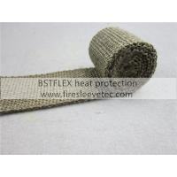 "Buy cheap Thermal Header Pipe Tape Titanium Lava Exhaust Wrap 2""x 50ft Ties Kit from wholesalers"