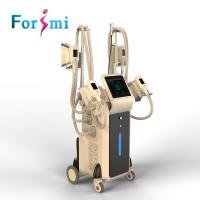 Buy cheap Offer mini handle top  work together 4 heads vacuum cryolipolysis fat reduction device from wholesalers