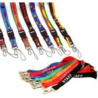 Buy cheap top sellling Color printing custom lanyard from wholesalers