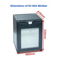 Buy cheap Single Door Commercial Hotel Mini Bar Refrigerator Electric For Home / Car from wholesalers