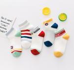 Buy cheap Custom Kids Boy Socks Cotton Baby Socks Knitting Kids Sock Plain Color from wholesalers