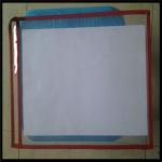 Buy cheap Color PVC File Holder Shop Tickets Holder PVC Holder,paper holder. 13x10 inches from wholesalers