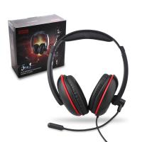 Buy cheap Genik Play Gaming Accessories 4 In 1 Stereo Gaming Headset Headphones With Mic / Light from wholesalers