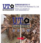 Buy cheap waste wood board /wood box / wood furniture Shredding machine, single shaft shredder from wholesalers