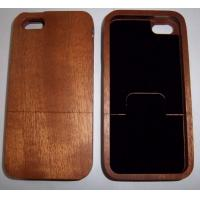 Buy cheap Sapelli Wood Cell Phone Cover For Iphone 5 With Customized Patterns from wholesalers