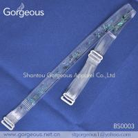 Buy cheap Fashion plastic clear bra straps product