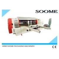 Buy cheap PLC Control Automatic Lead Edge Feeder , Manual Paper Die Cutting Machine from wholesalers