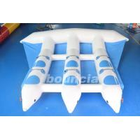 Buy cheap Blue Inflatable Banana Boat Towable Inflatable Flying Fish Tube For Sea from wholesalers