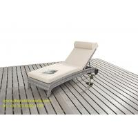 Buy cheap PE Wicker Rattan Sun Lounger, Outdoor Chaise Lounge, Rattan Garden Furniture, from wholesalers