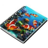 Buy cheap Custom Small Colorful Heart Shape Spiral Notebook, note pad Matt Lamination from wholesalers