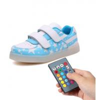 Buy cheap Trainer Simulation Led Shoes , Remote Control Girls Light Up Sneakers from wholesalers