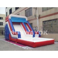 Buy cheap Big backyard inflatable water slide , blow up water slides For inflatable aqua park from wholesalers