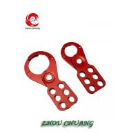 Buy cheap ZC-K04 28mm HASP Durable Steel HASP Lockout, Lockout Tagout Hasp from wholesalers