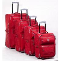Buy cheap Set of 4 softside Trolley case luggage,  size of 20' / 24' / 28' / 32' inches, from wholesalers