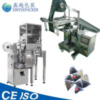 Buy cheap Inner And Outer Pyramid Tea Bag Machine For Medicinal Tea / Healthy Teas from wholesalers