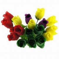 Buy cheap 11 Single Stem Plastic Rose Gift Flowers  from wholesalers
