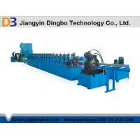 Buy cheap Metal Shelf Storage Rack Roll Forming Machine Manual Adjustment The Size from wholesalers