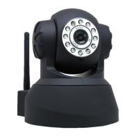 Buy cheap WANSVIEW Black Genuine wireless wifi ip camera pan(300)/Tilt(120) Night/Day vision 2-way audio from wholesalers